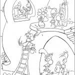 דף צביעה הפיל הורטון 5