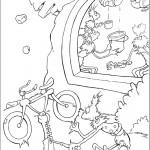 דף צביעה הפיל הורטון 4
