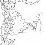 דף צביעה הפיל הורטון 3