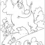 הורטון מגן על הגרגיר מפני הקופים שלועגים לו