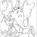 הקופים משתעשעים עם הפיל הורטון