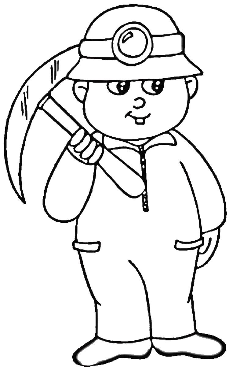День шахтера картинки для детей