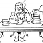 דף צביעה מקצועות - עורך דין