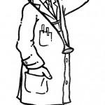 דף צביעה מקצועות - רופא 1