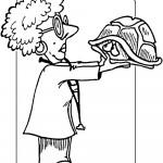 דף צביעה מקצועות - וטרינרית