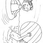 ילדים משחקים בכדור מים