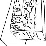 דף צביעה דגים באקווריום מלבני