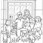 אנדי, ברוס והכלבים בפתח המלון