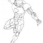 דף צביעה איירון מן 52