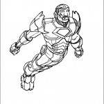 דף צביעה איירון מן 46