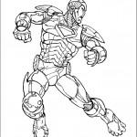 דף צביעה איירון מן 44