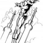 דף צביעה איירון מן 39