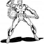 דף צביעה איירון מן 38