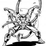 דף צביעה איירון מן 37