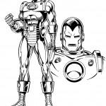 דף צביעה איירון מן 36