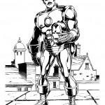 דף צביעה איירון מן 27