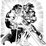דף צביעה איירון מן 21