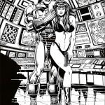 דף צביעה איירון מן 19