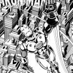 דף צביעה איירון מן 14