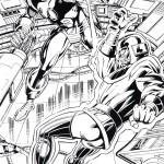 דף צביעה איירון מן 13