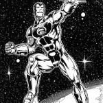 דף צביעה איירון מן 3