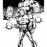 דף צביעה איירון מן 2