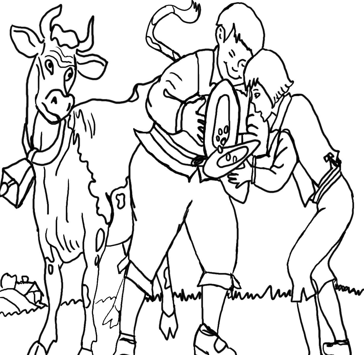beanstalk coloring pages - photo#36