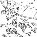 ג'ימי וחבריו משתוללים אחרי יום הלימודים