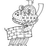 דף צביעה הכלב הרובוטי גודארד