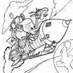 ג'ימי וחברו קרל טסים בחלל
