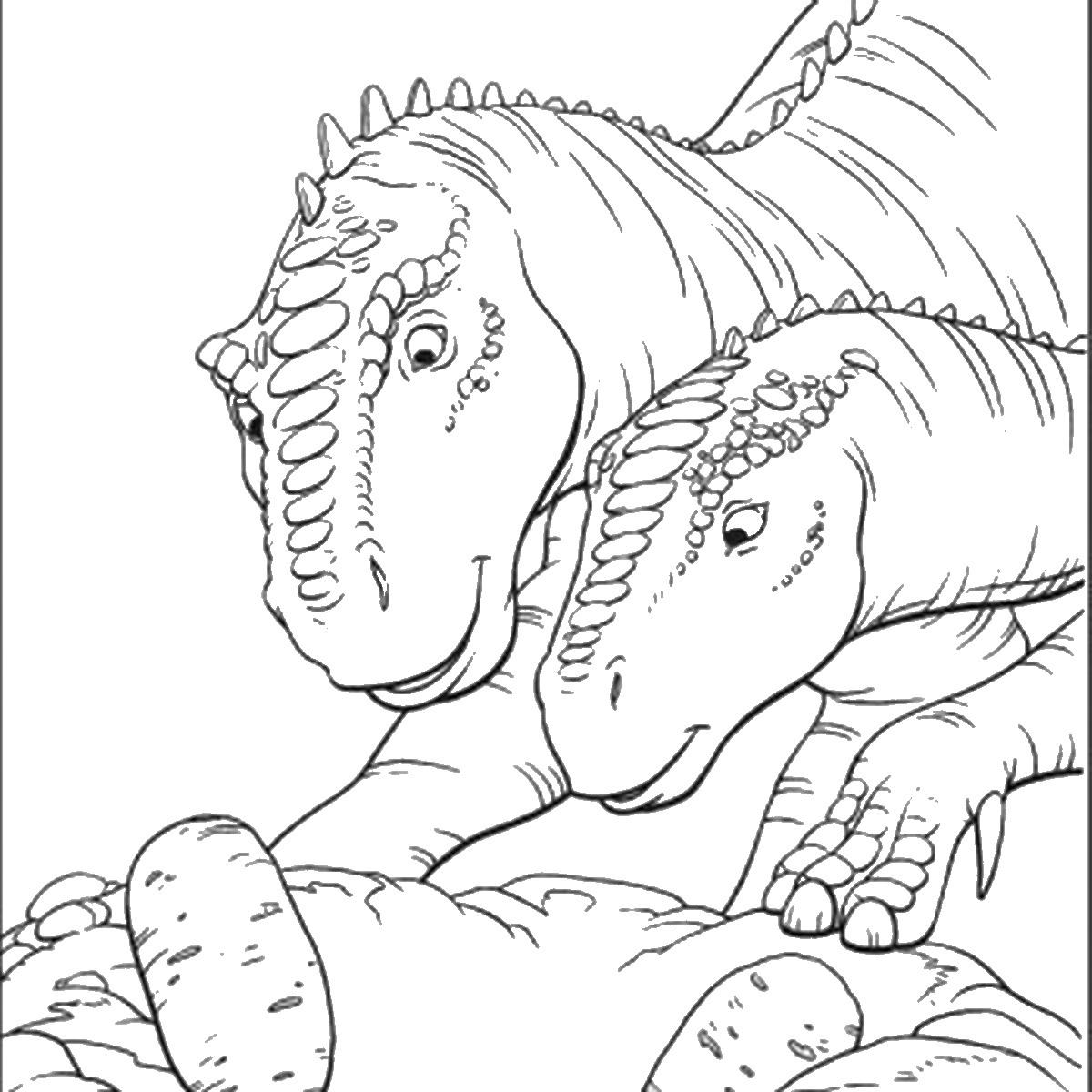 Jurassic Park Colering Pictshers