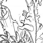 דף צביעה פארק היורה 12