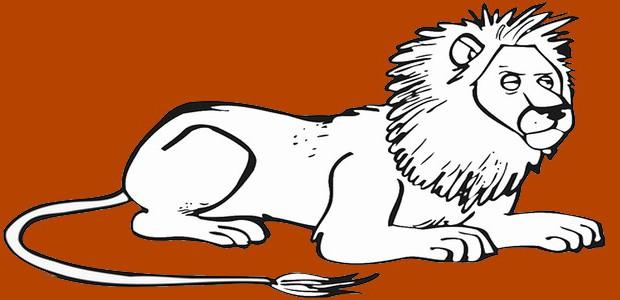 לחצו על דפי הצביעה של אריות להגדלה ולהדפסה