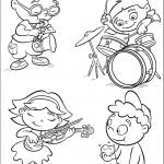 חבורת איינשטיין מנגנת בכלים שונים