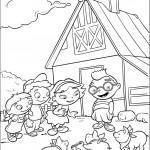 חבורת איינשטיין מבקרת בחווה