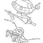 ספינת החלל זורקת מפתח לאביר