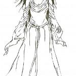 דף צביעה שר הטבעות - אאווין