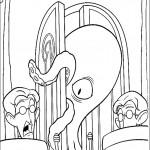 דף צביעה לפטי התמנון