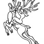 דף צביעה מלכת השלג 11