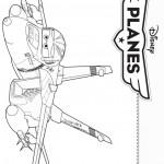 דף צביעה מטוסים דיסני