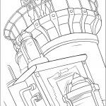 דף צביעה קפטן רורק ומילו על הצוללת