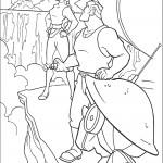 דף צביעה קפטן רורק והלגה