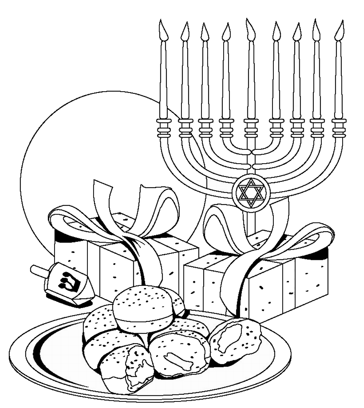 gelt coloring pages - photo#3