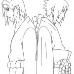 דף צביעה נארוטו 5