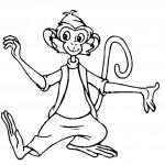 דף צביעה הקוף, מר נילסון