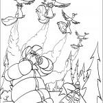 הנשרים והסנאים בהתקפה על הציידים