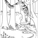 דף צביעה חורשת טימברלין