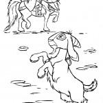 דף צביעה הכומר פרולו והתיש דג'אלי