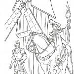 דף צביעה הכומר פרולו מגייס את פאביוס למלחמה בצוענים
