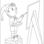 דף צביעה נאדי מצייר